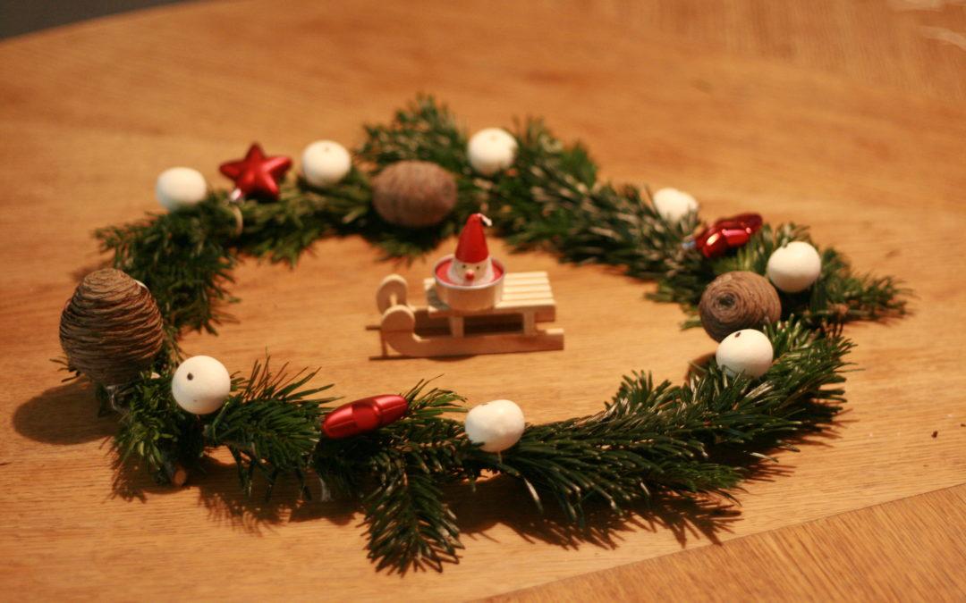 Le DIY du mois : la couronne de Noël en sapin