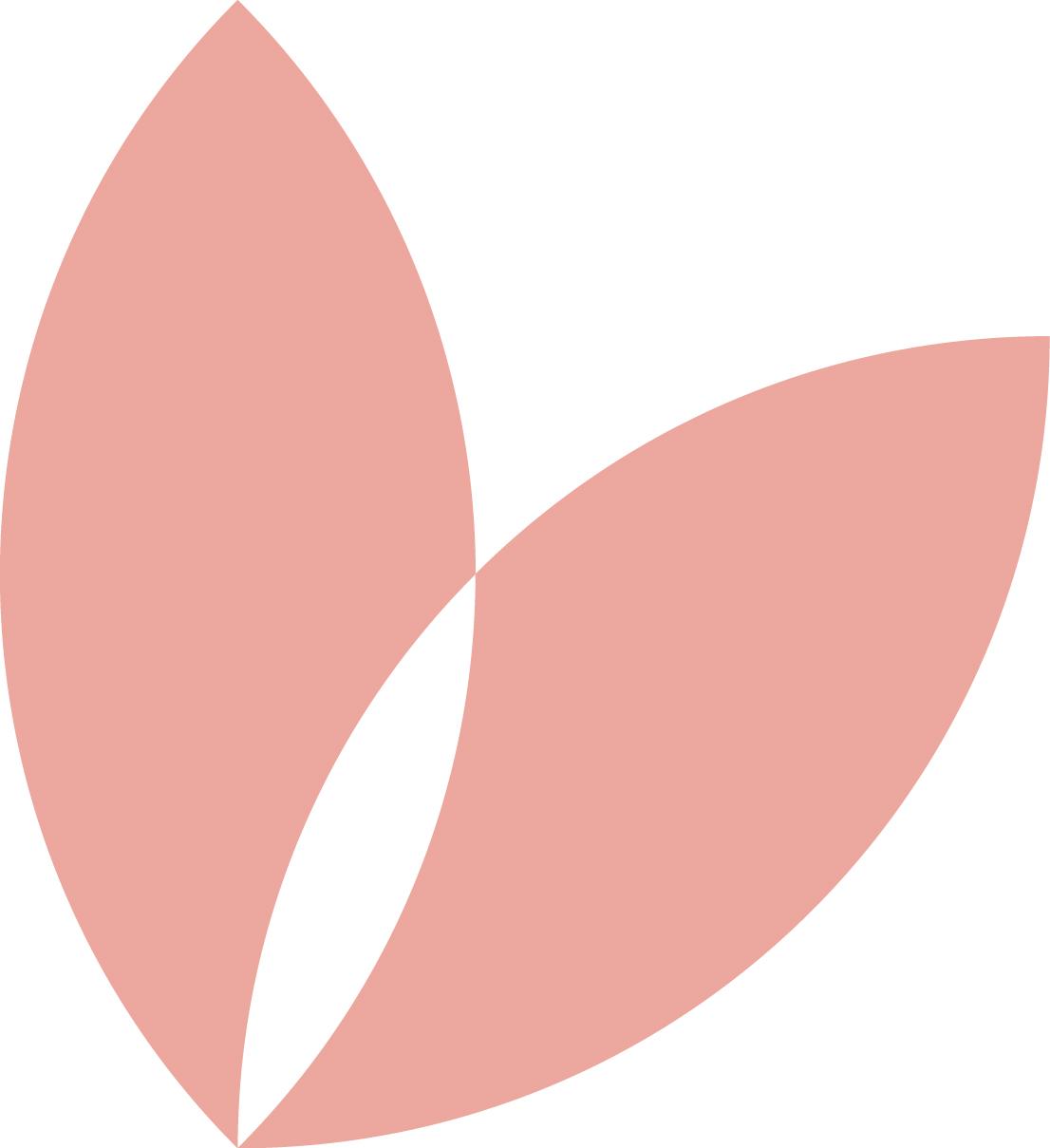 La Pousse Verte pétale rose