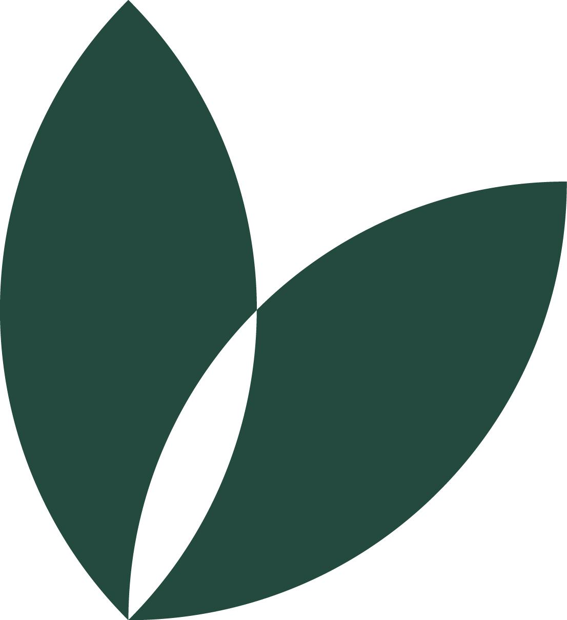 La Pousse Verte pétale vert foncé