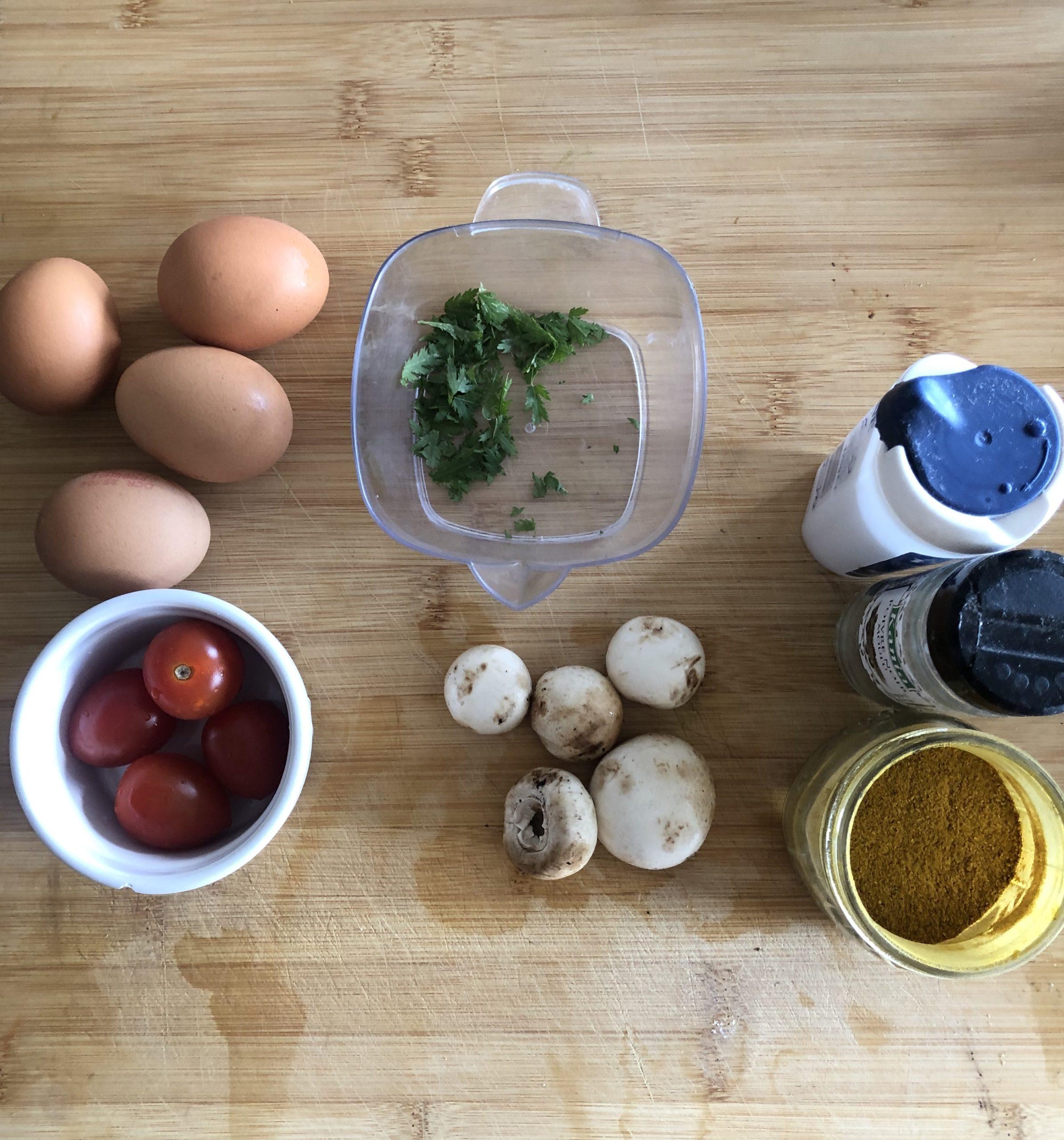 ingrédients, recette de cuisine tanaisie, la pousse verte