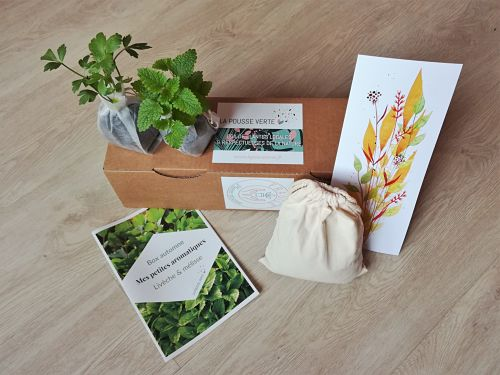 box cadeau plantes aromatiques