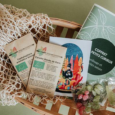 cadeau jardinage enfant plantes bonbon