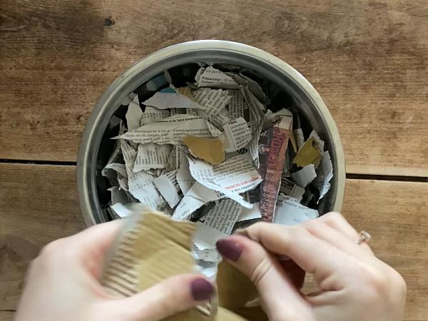 diy papier graines