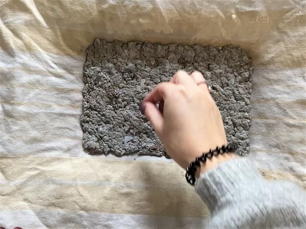 diy papier ensemencé graines noel