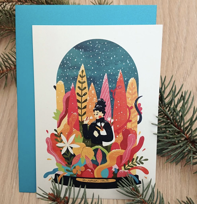illustration box hiver