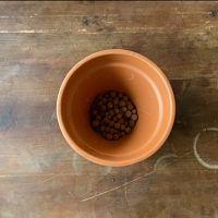 rempotage pot billes argile